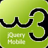 w3schools.com jQuery Mobile Tutorial ページ