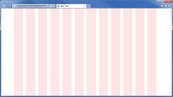 960 GRID SYSTEM の表示例